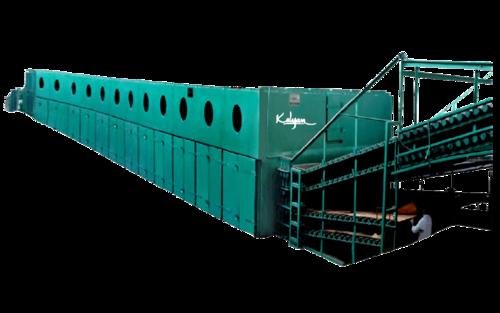 Jet Ventilated Roller Track Veneer Dryer