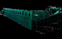 Jet Ventilated Roller Track Veneer Dryer 12 Section 4 Decks