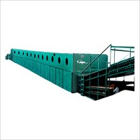 Jet Ventilated Roller Track Veneer Dryer 12 Section 4 Decks