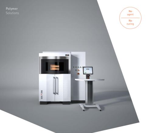 EOS P396 3D Printing Machine