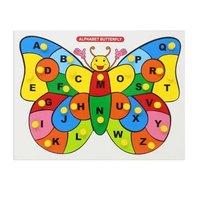 Alphabet Butterfly Knob