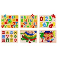 Alphabet & Numbers knob