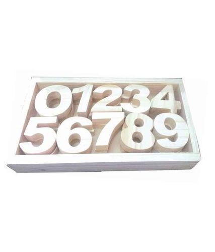 Wooden Number Blocks