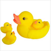 Rubber Squeezy Duck Toy