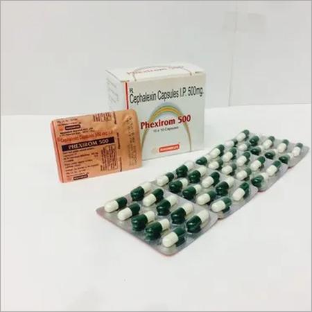 Cephalexin- 500mg cap.