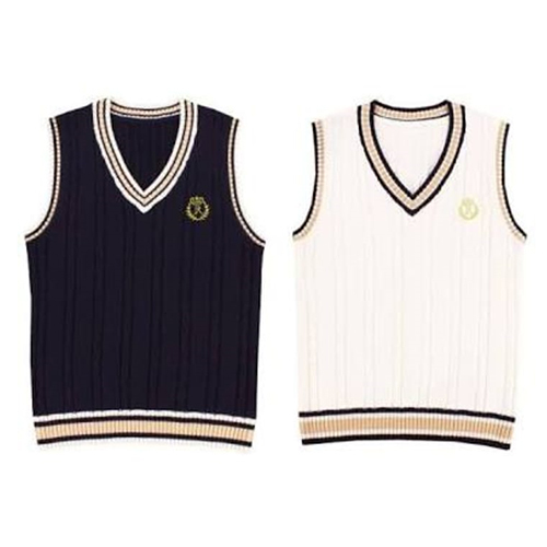 School Sleeveless Sweater