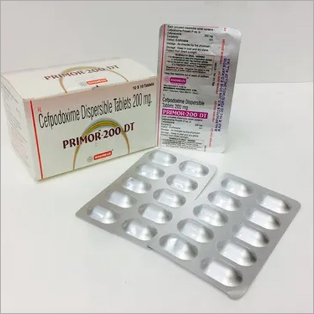 Cefpodoxime 200 mg Dispersible Tab.