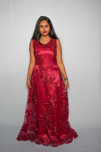 Red Occasion Gown