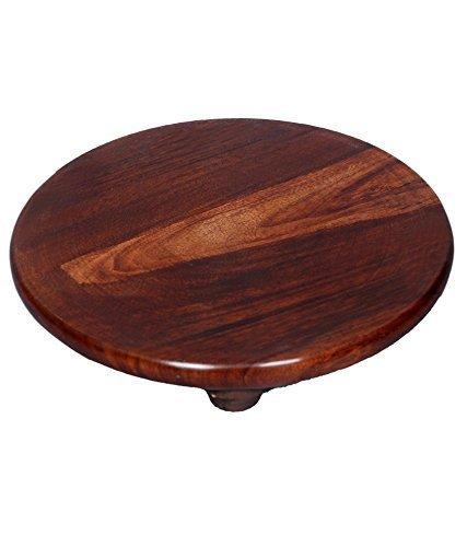 Wood Chakla (9 inch)