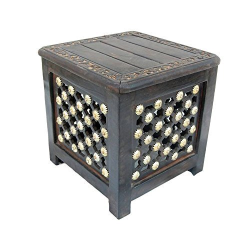 Living Room Small Stool (Side Table Height: 14.1 inches (35 cm), Length: 14.1 inches (35 cm), Width: 14.1 inches (35 cm)