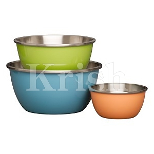 Colored Bowls
