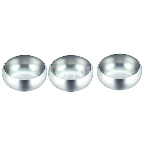 SS Round Snack Bowl