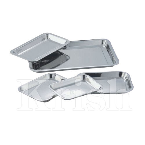 SS Rectangular Tray
