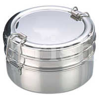 SS Round Lunch Box