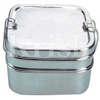 SS Square Lunch Box