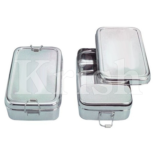 SS Rectangle Lunch Box