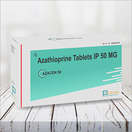 AZACEN 50-AZATHIOPRINE TABLETS IP 50MG