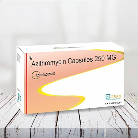 Azithracen 250-azithromcin Capsules 250mg