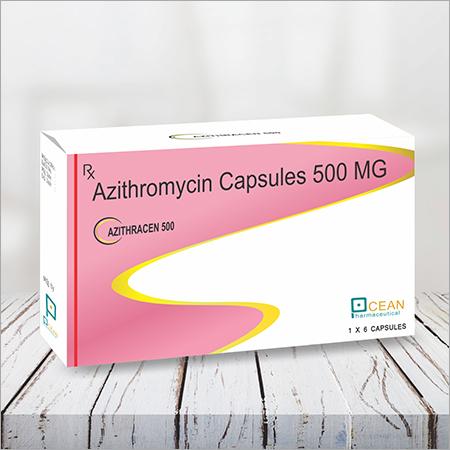 Azithracen 500-azithromcin Capsules 500 Mg