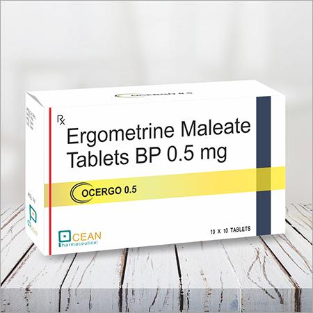 Ocergo 0.5-ergometrine Maleate Tablets BP