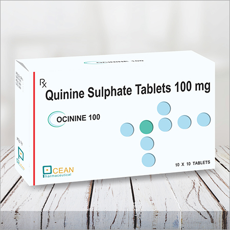 Ocinine 100-quinine Sulphate Tablets 100mg