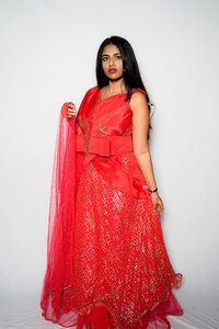 Party Net Gown (RED)