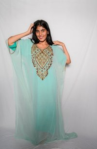 party kaftan  gown