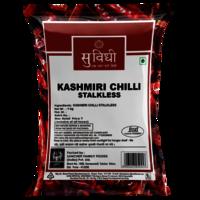 Stalkless Whole Kashmiri Chilli