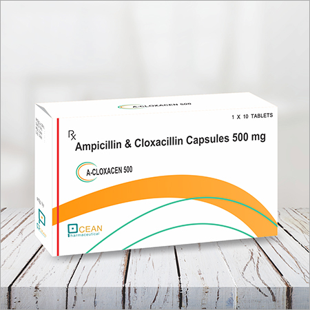 A-cloxacen 500- Ampicliin & Cloxacliling Capsule 500mg