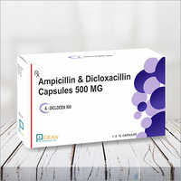 A-diclocen 500- Ampicliling & Dicloxacliling 500mg