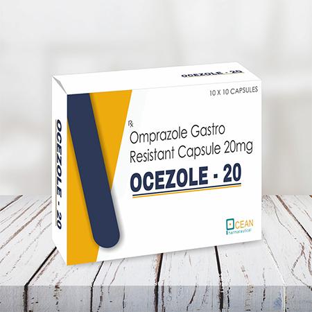 OCEZOLE 20 - Omeprazole Capsules 20mg
