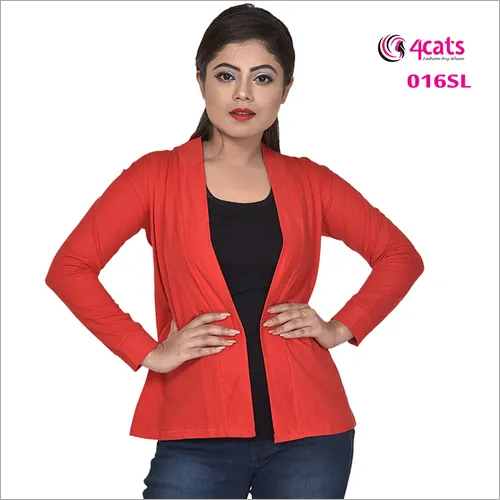 Cotton Ladies Shrug