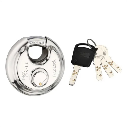 Metcraft Stainless Steel Disc Lock 90mm