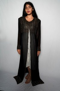 Simple Black Kaftan