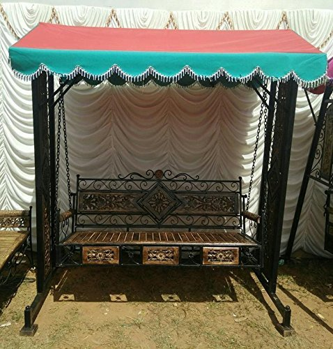 Handicraft Garden & Balcony Swing/Garden Jhula(Portable)