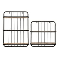 Cage Wall Rack Set Of 2