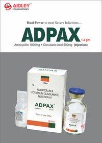 Amoxycillin 1gm + Clavulanate Pot. 200mg