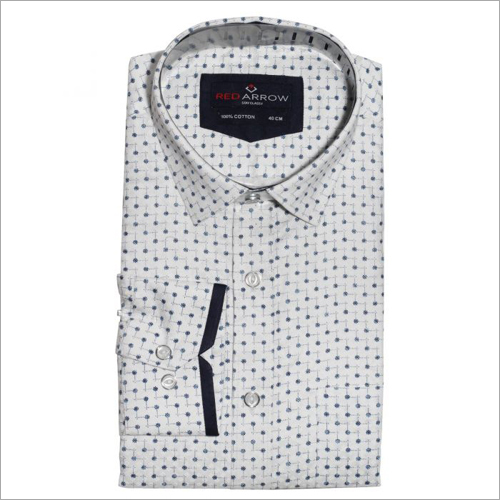 Printed Soft Satin Formal Shirts