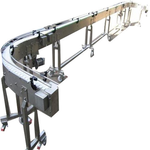 SS Slat Chain Conveyor