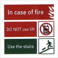 Fire Fighting Signage