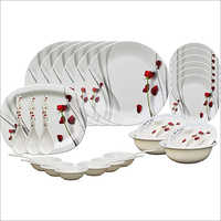 White Ceramic Crockery Set