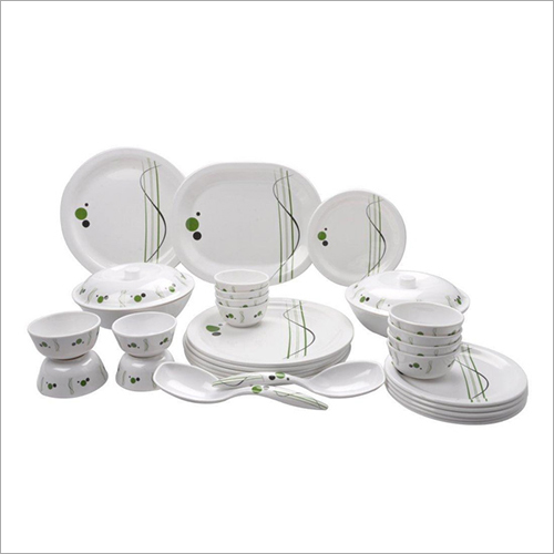 Printed Ceramic Dinner Set