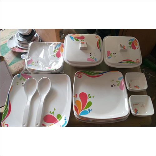 Melamine Designer Crockery Set