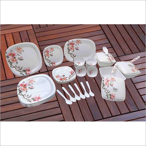 Printed Crockery Set