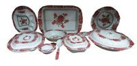 Melamine Designer Dinner Set