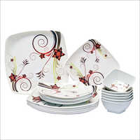 Melamine Tray With Bowl