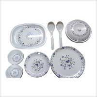 32 Piece Printed Crockery Set
