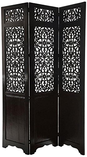 Handcrafted Home Décor 3 Panel Premium Quality Wooden Room Partition/Wooden Room Divider/Wooden Screen/Wooden Room Seperator