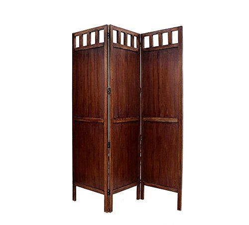 Handcrafted Home Décor Wooden 3 Panel Room Partition Screen/Wooden Room Divider