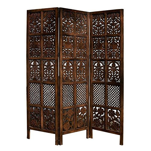 Home Décor Traditional Handcrafted Wooden Partition Screen/Room Divider